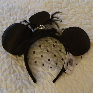 Disney Jack Skellington Mickey Ears Headband